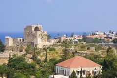 Ein Blick bei Byblos Stockbild
