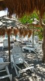 Ein Blick eines touristischen Dorfs Lizenzfreies Stockbild