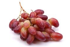 Ein Block der roten Trauben Stockbild