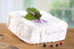 Ein Block von Pont-l'evequefranzose-Normandie-Käse Lizenzfreie Stockfotos