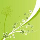 Ein Blumenauslegung-Hintergrund Stockfoto