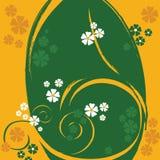 Ein Blumenauslegung-Hintergrund stock abbildung