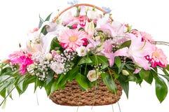Ein Blumenstrauß der Blumen Lizenzfreies Stockbild