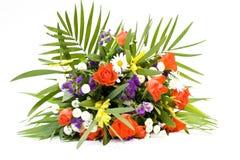 Ein Blumenstrauß der Blumen stockfoto