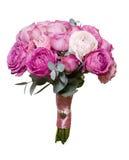Ein Blumenstrauß von Pfingstrosenrosen Lizenzfreie Stockbilder
