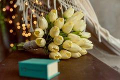 Ein Blumenstrauß von Tulpen Lizenzfreie Stockfotografie