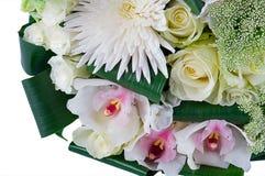 Ein Blumenstrauß der Blumen Stockbild