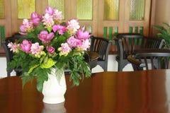 Ein Blumenvase Lizenzfreies Stockbild