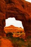 Ein Bogen in Utah lizenzfreies stockbild