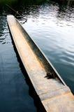 Ein Boot lizenzfreies stockfoto