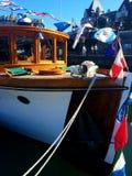 Ein Boot lizenzfreies stockbild