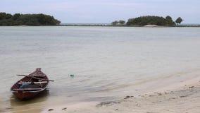 Ein Boot in Thailand stock video footage