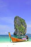 Ein Boots@ KOH Poda des langen Hecks Lizenzfreie Stockfotografie