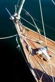 Ein Bootsbogen Stockbild