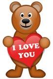 Ein brauner Bär Lizenzfreies Stockbild