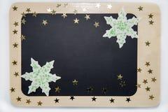 Ein Brett mit Sternen Stockfotografie