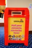 Ein Briefkasten in legoland Hotel in Florida Lizenzfreie Stockfotos