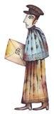 Ein Briefträger Lizenzfreies Stockfoto