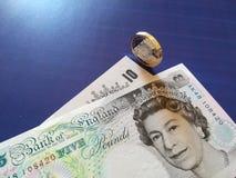 Ein britisches Pfund, neuer Typ 2017 Lizenzfreie Stockfotos