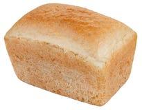Ein Brotlaib lokalisiert auf dem weißen Hintergrund Stockbild