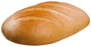 Ein Brotlaib lokalisiert auf dem weißen Hintergrund Lizenzfreie Stockbilder