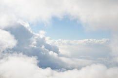 Ein Bruch in den Wolken Stockbild