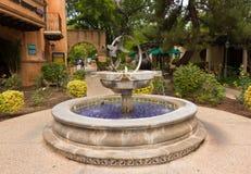 Ein Brunnen in einem Hotel im sedona Stockfotografie