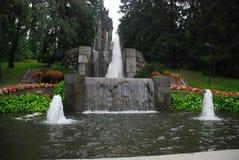 Ein Brunnen in Tempere Lizenzfreies Stockfoto