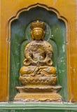 Ein Buddhas im Sommer-Palast Stockbild