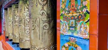 Ein buddhistischer Tempel stockfotografie