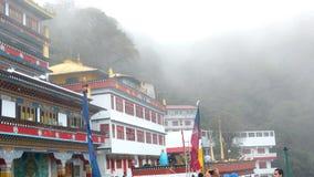 Ein buddhistisches Kloster ghum Stockbild