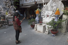 Ein buddhistisches Praye Lizenzfreie Stockfotografie