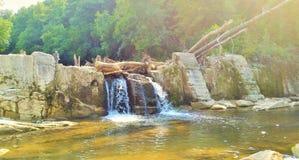 Ein bulgarischer Wasserfall Lizenzfreies Stockbild