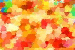 Ein bunter, abstrakter Hintergrund in den warmen Farben Lizenzfreie Stockfotos