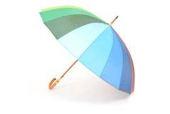 Ein bunter Regenschirm Stockbild