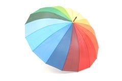 Ein bunter Regenschirm Stockbilder