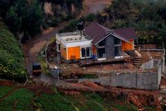 Ein buntes Haus in den hils von Oootey lizenzfreies stockfoto