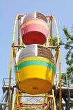 Ein buntes Riesenrad Lizenzfreie Stockbilder