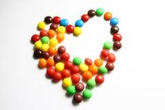 Ein buntes von Bonbons oder von Süßigkeit Stockfotos