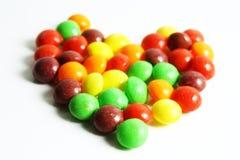 Ein buntes von Bonbons oder von Süßigkeit Stockfoto