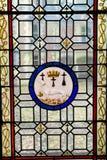 Ein Buntglas von Blois-Chateau Stockbild