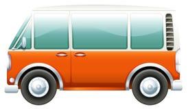 Ein Bus lizenzfreie abbildung
