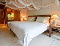 Ein Butike-Hotelzimmerinnenraum Lizenzfreies Stockbild