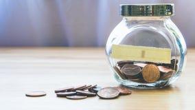Ein Cent-Münzen Stockbild