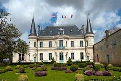 Ein Chateau von Bordeaux Lizenzfreies Stockbild