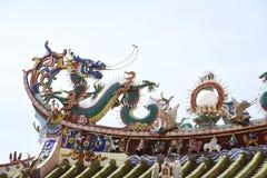 Ein chinesischer Drache stockbild