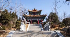 Ein chinesischer Pavillon lizenzfreies stockfoto