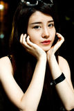 Ein chinesisches Mädchen Stockfoto