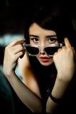 Ein chinesisches Mädchen Stockfotos