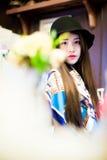 Ein chinesisches Mädchen Stockbild